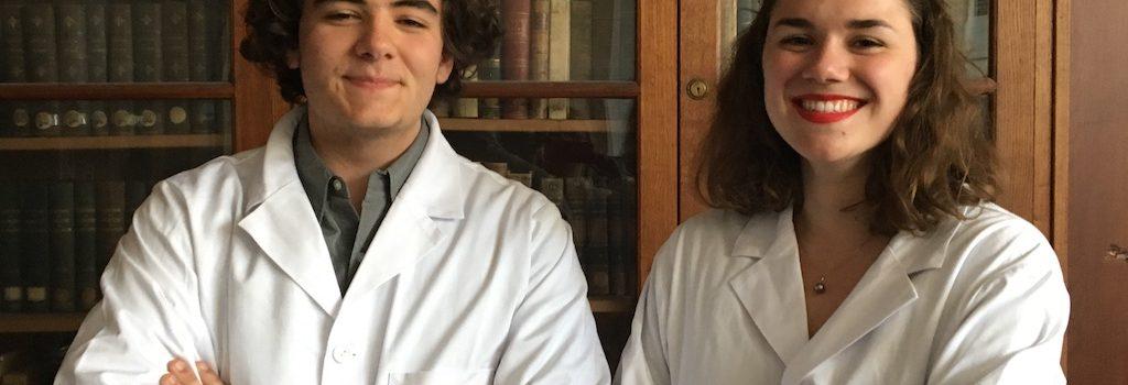 Olympiades de chimie – Deux élèves à l'honneur
