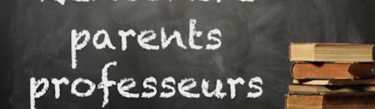 Réunions parents professeurs
