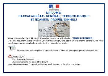 Bac - Diplômes 2018